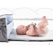 Prenez soin de votre petit garçon n'importe où grâce à un sac à langer !