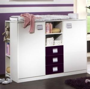 commode a langer jumeaux. Black Bedroom Furniture Sets. Home Design Ideas
